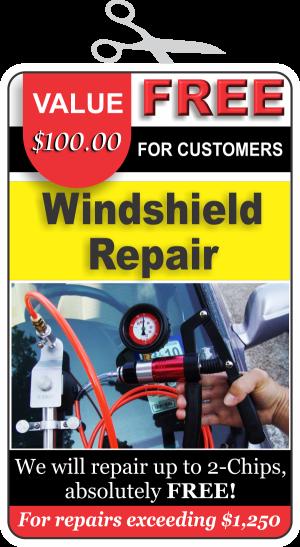 FREE Windshield Repair
