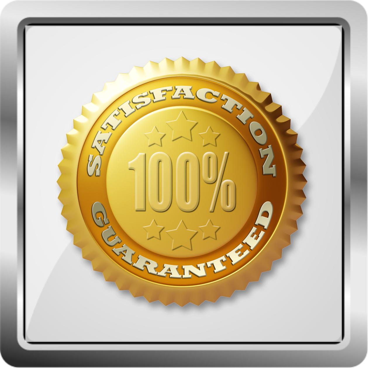 100% Satisfaction - Customer service